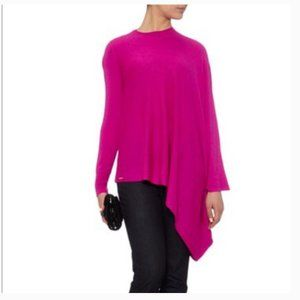Ted Baker Janila Pink Asymmetric Sweater 2 nwot